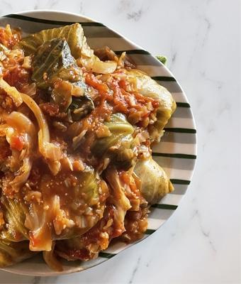 Venison Cabbage Rolls Feature