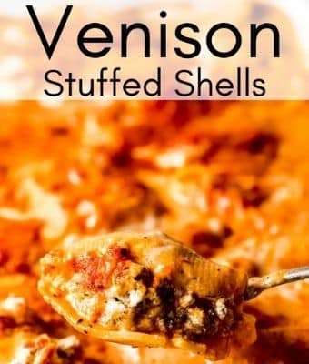 Venison Stuffed Shells Feature
