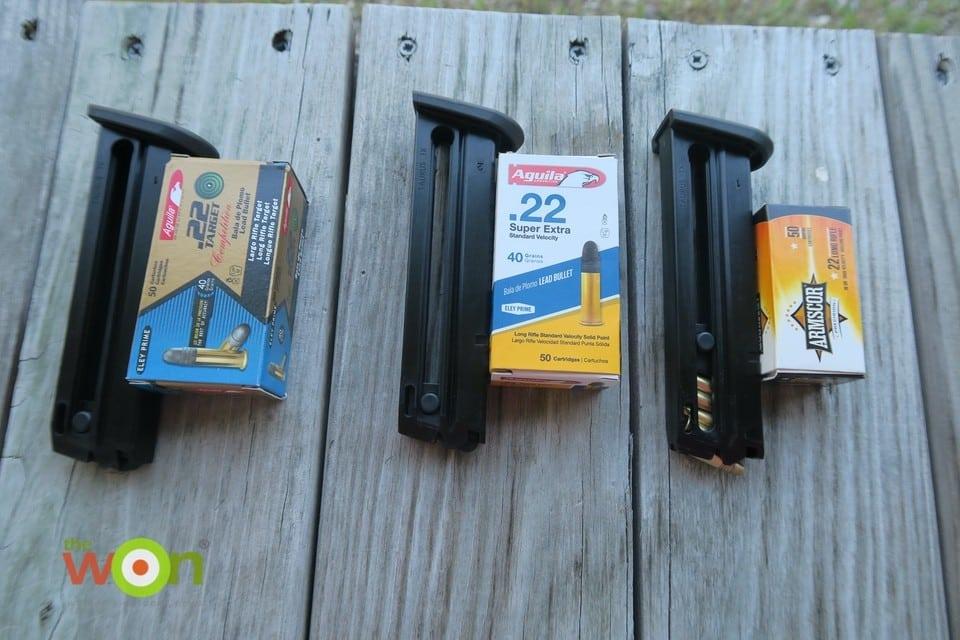 ammo with magazines