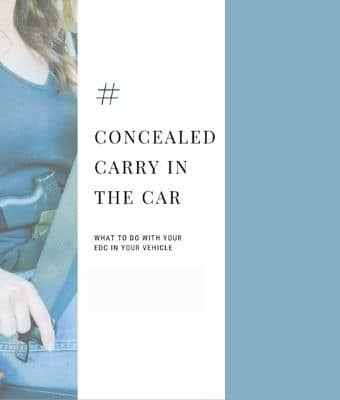 concealed carry car feature