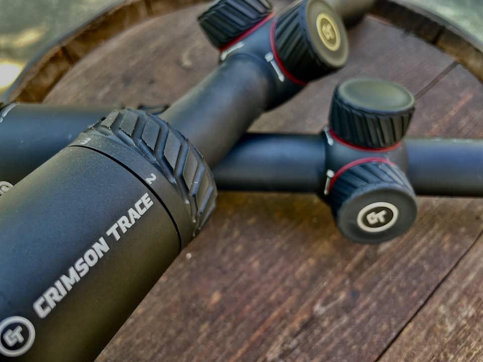 Crimson Trace Hardline and Brushline scopes
