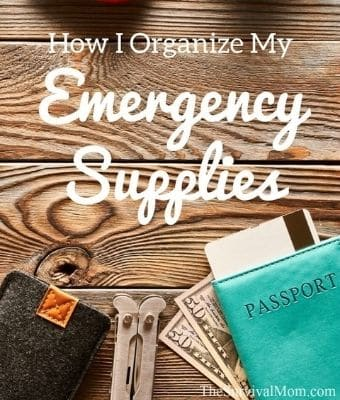 organizing emergency supplies Feature