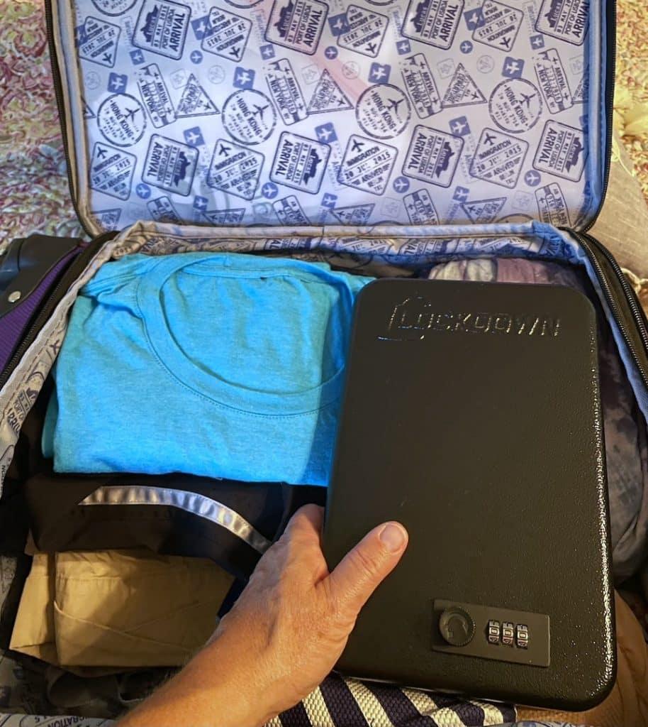 vault in suitcase