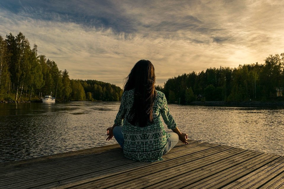 woman meditating Strategies for Reclaiming Your Life