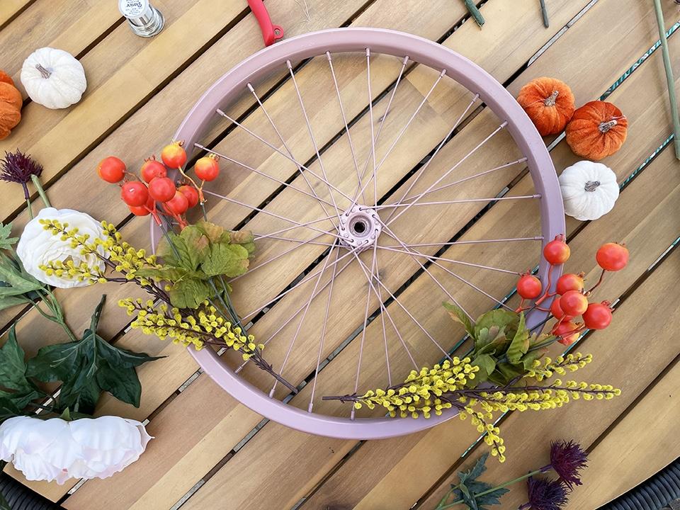 Bike Wheel adding layers