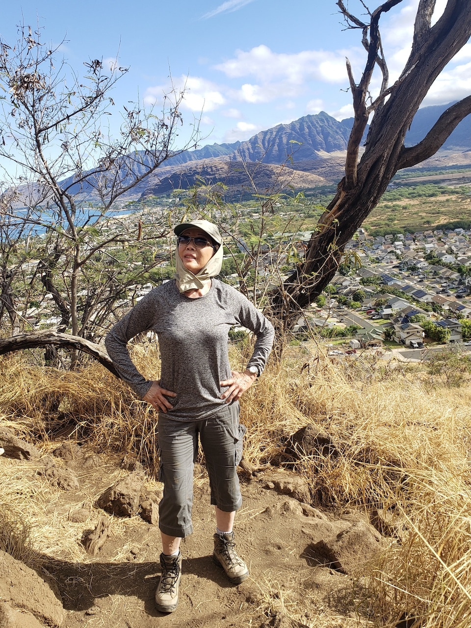 How about a 2 mile hike at the Kaiwa Ridge Trail in Oahu Hawaii