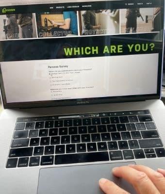 Lockdown Persona Survey feature