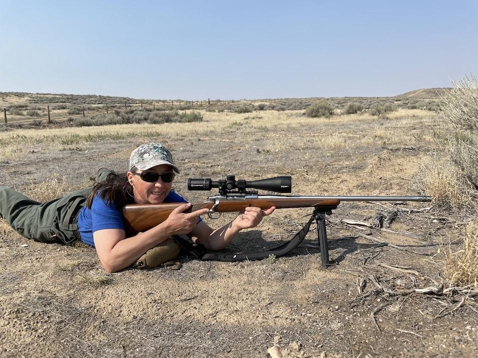 Range practice in Wyoming