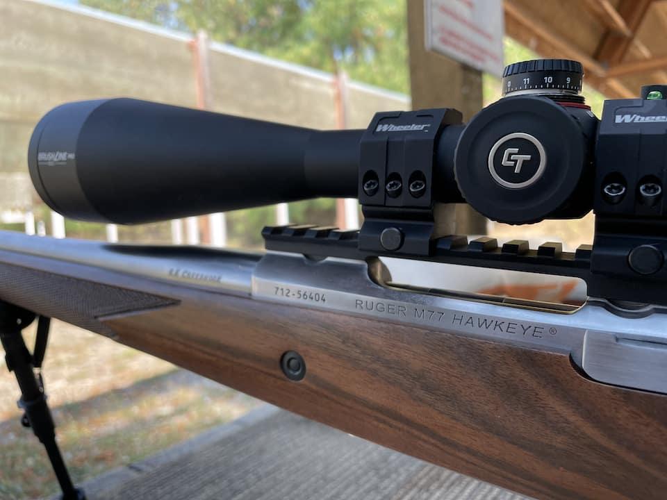 Ruger Hawkeye 6.5 Creedmoor with Crimson Trace Brushline Pro