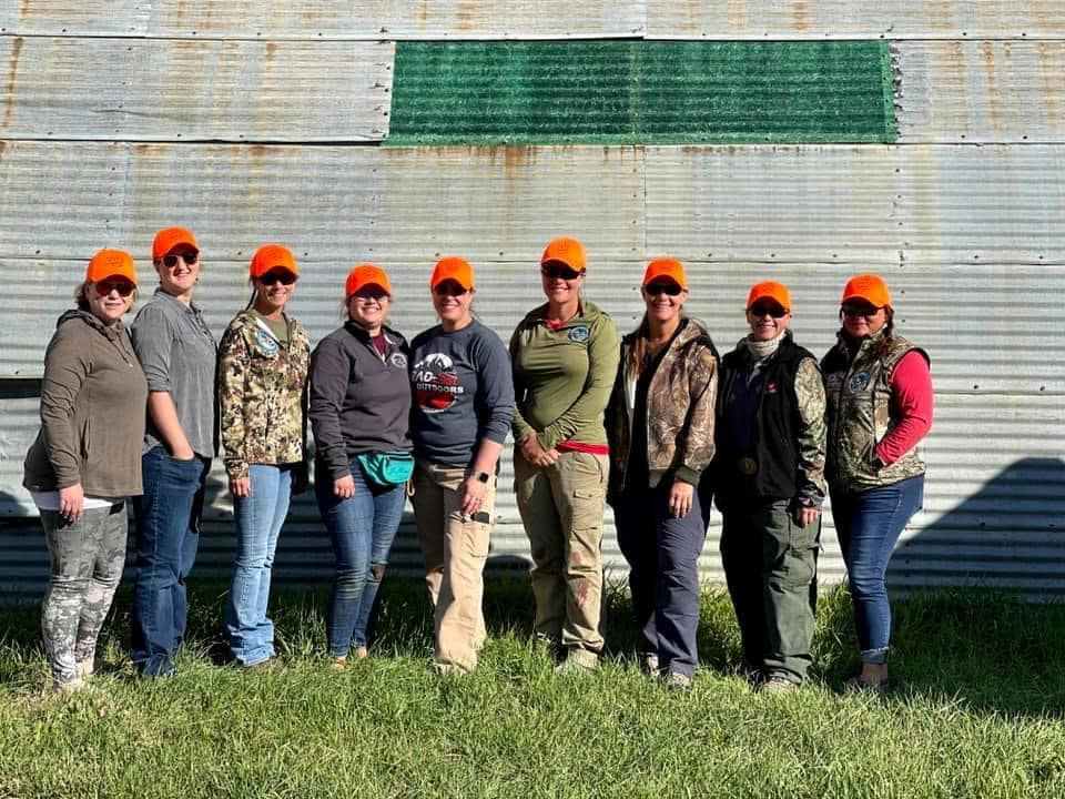 Sisters of the Sage hunting success with 3 mentors and 6 hunters filled all 6 tags