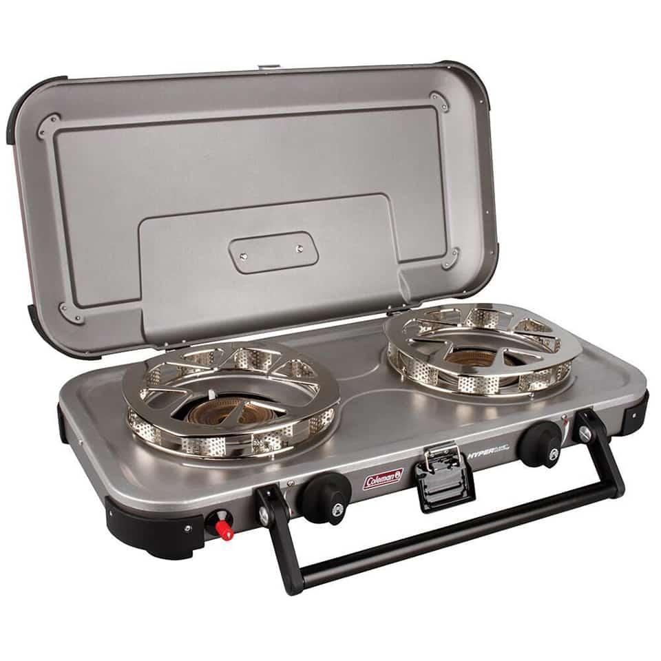 coleman 2 burner stove Camping Essentials
