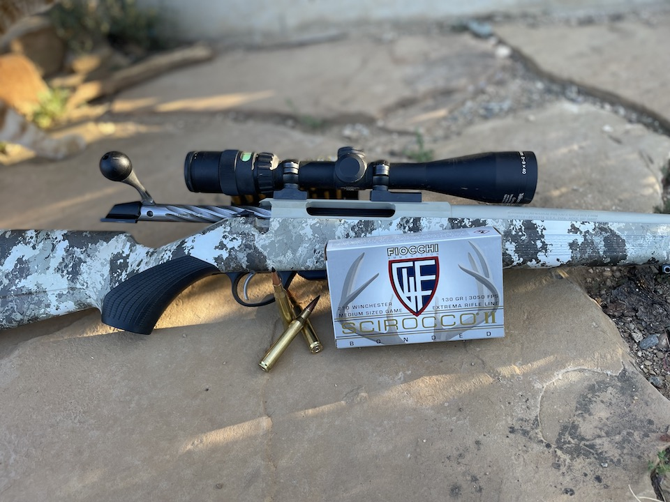 fiocchi ammunition and rifle