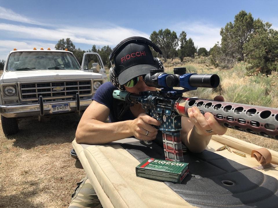 sighting in rifle