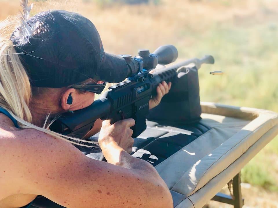 Lanny zeroing rifle