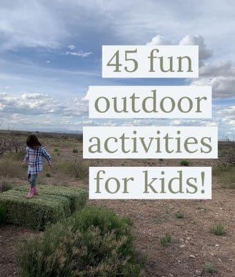 Outdoor activities for kids feature